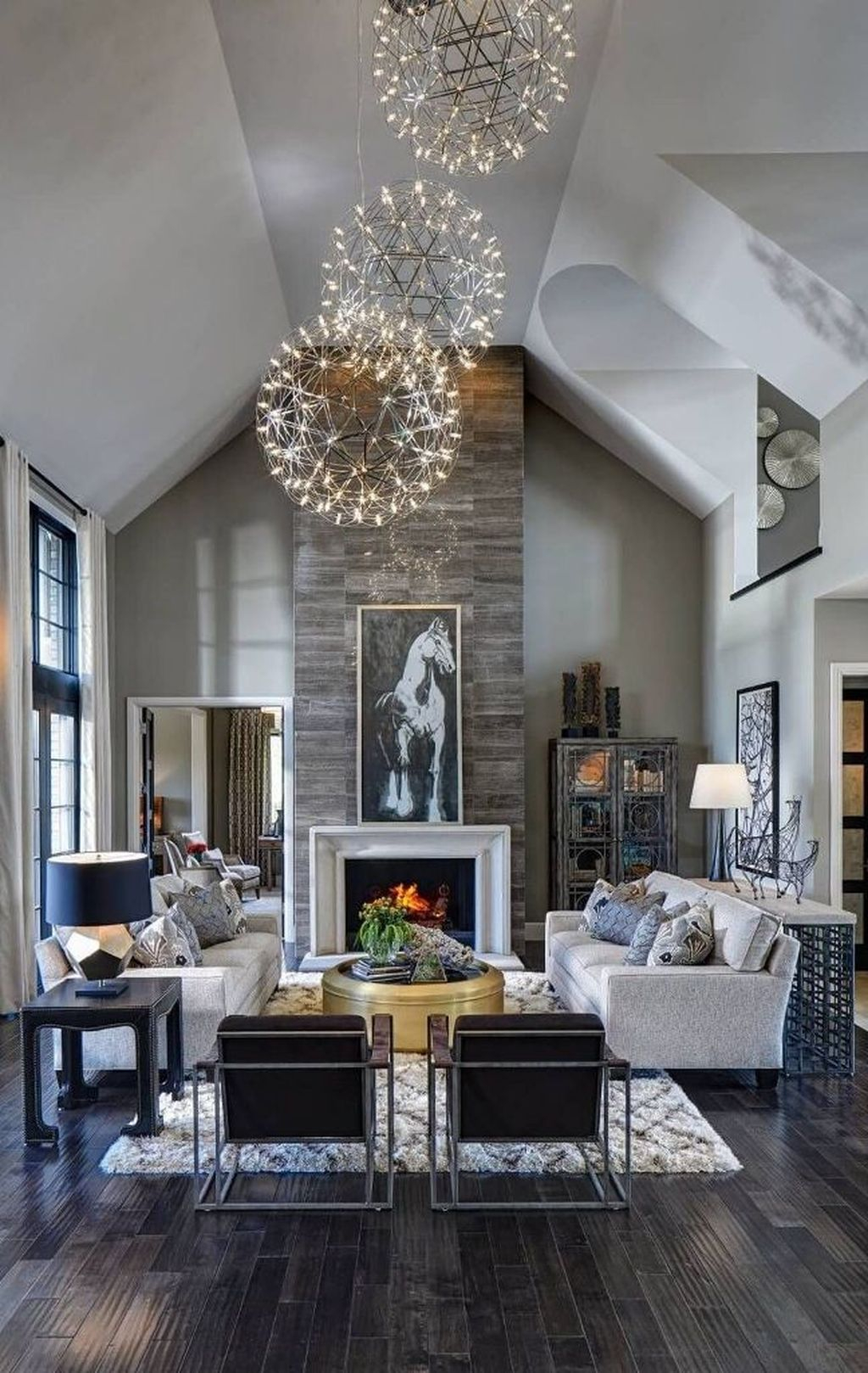 Luxury Clad Cover Fireplace Ideas To Try 25