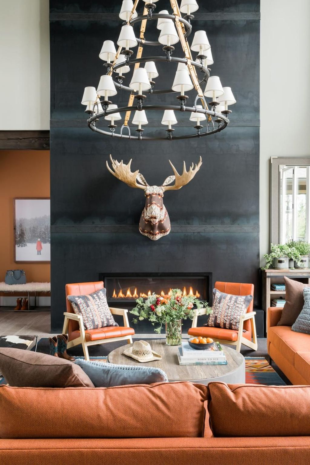 Luxury Clad Cover Fireplace Ideas To Try 36