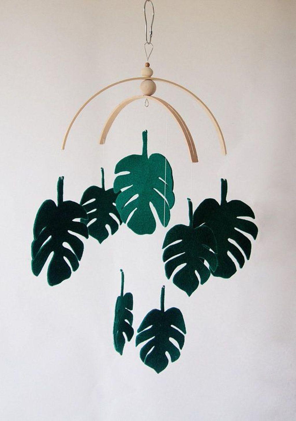Splendid Tropical Leaf Decor Ideas For Home Design 02