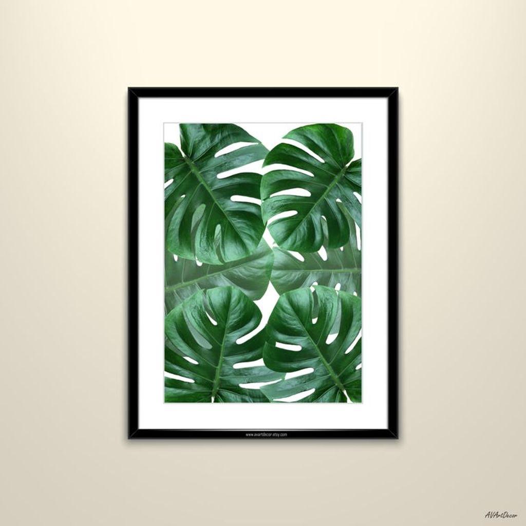 Splendid Tropical Leaf Decor Ideas For Home Design 12