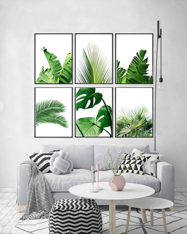 Splendid Tropical Leaf Decor Ideas For Home Design 23
