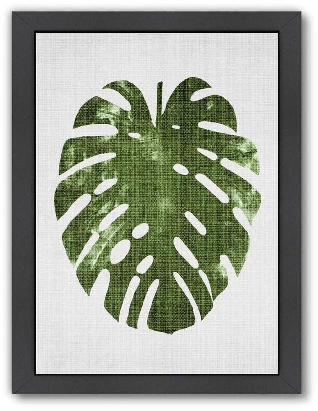 Splendid Tropical Leaf Decor Ideas For Home Design 39
