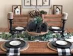 Adorable Fall Farmhouse Dining Room Decor Ideas 02