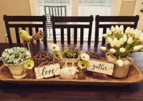 Adorable Fall Farmhouse Dining Room Decor Ideas 13