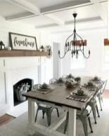 Adorable Fall Farmhouse Dining Room Decor Ideas 17