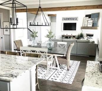 Adorable Fall Farmhouse Dining Room Decor Ideas 21