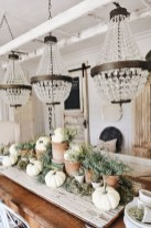 Adorable Fall Farmhouse Dining Room Decor Ideas 30