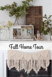 Dreamy Fall Home Tour Décor Ideas To Inspire You 04