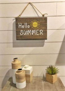 Elegant Summer Farmhouse Decor Ideas For Home 06