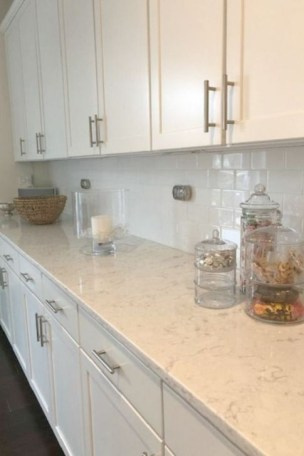Fancy White Kitchen Cabinets Ideas To Try Asap 15