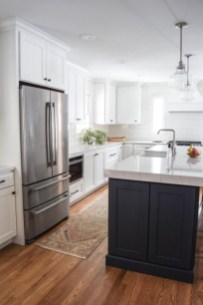 Fancy White Kitchen Cabinets Ideas To Try Asap 25