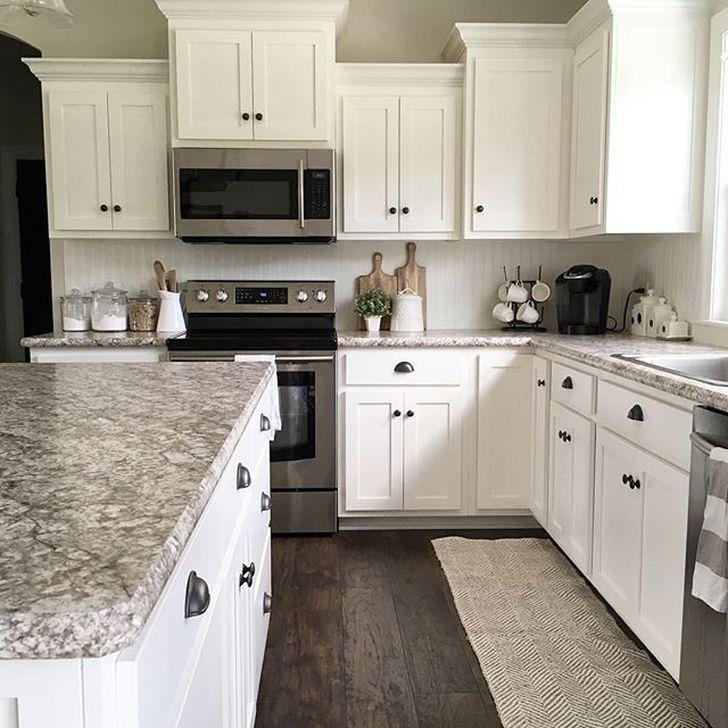 39 Fancy White Kitchen Cabinets Ideas To Try Asap - DECORKEUN