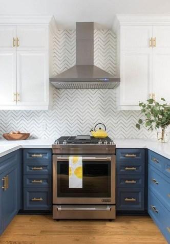 Gorgeous Blue And White Kitchen Design Ideas To Try 36