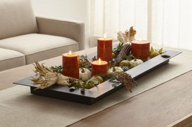 Rustic Diy Fall Centerpiece Ideas For Your Home Décor 03