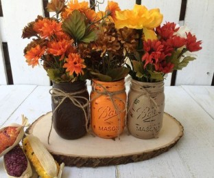 Rustic Diy Fall Centerpiece Ideas For Your Home Décor 10