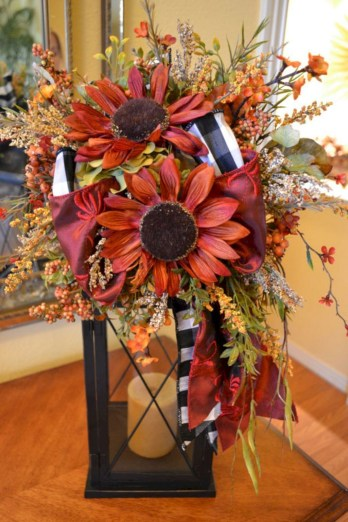 Rustic Diy Fall Centerpiece Ideas For Your Home Décor 15