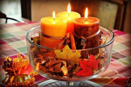Rustic Diy Fall Centerpiece Ideas For Your Home Décor 31