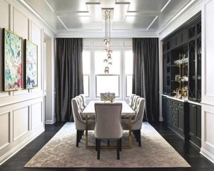 Unusual Traditional Dining Room Design Ideas That Looks Elegant 11