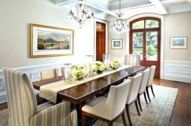 Unusual Traditional Dining Room Design Ideas That Looks Elegant 13