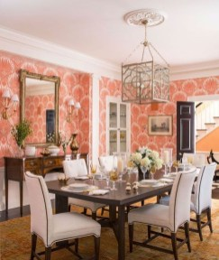 Unusual Traditional Dining Room Design Ideas That Looks Elegant 26