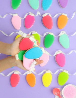 Adorable Diy Christmas Lights Cookies Ideas For Your Décor That Looks Cool24