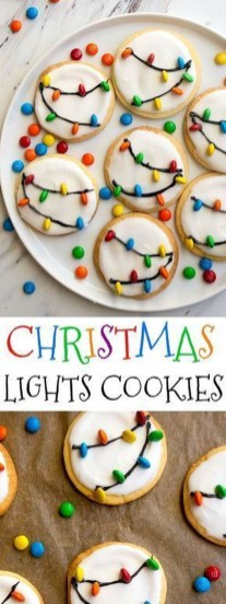 Adorable Diy Christmas Lights Cookies Ideas For Your Décor That Looks Cool28