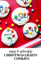 Adorable Diy Christmas Lights Cookies Ideas For Your Décor That Looks Cool29