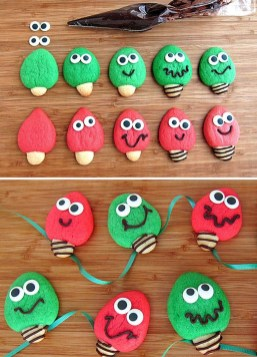 Adorable Diy Christmas Lights Cookies Ideas For Your Décor That Looks Cool34