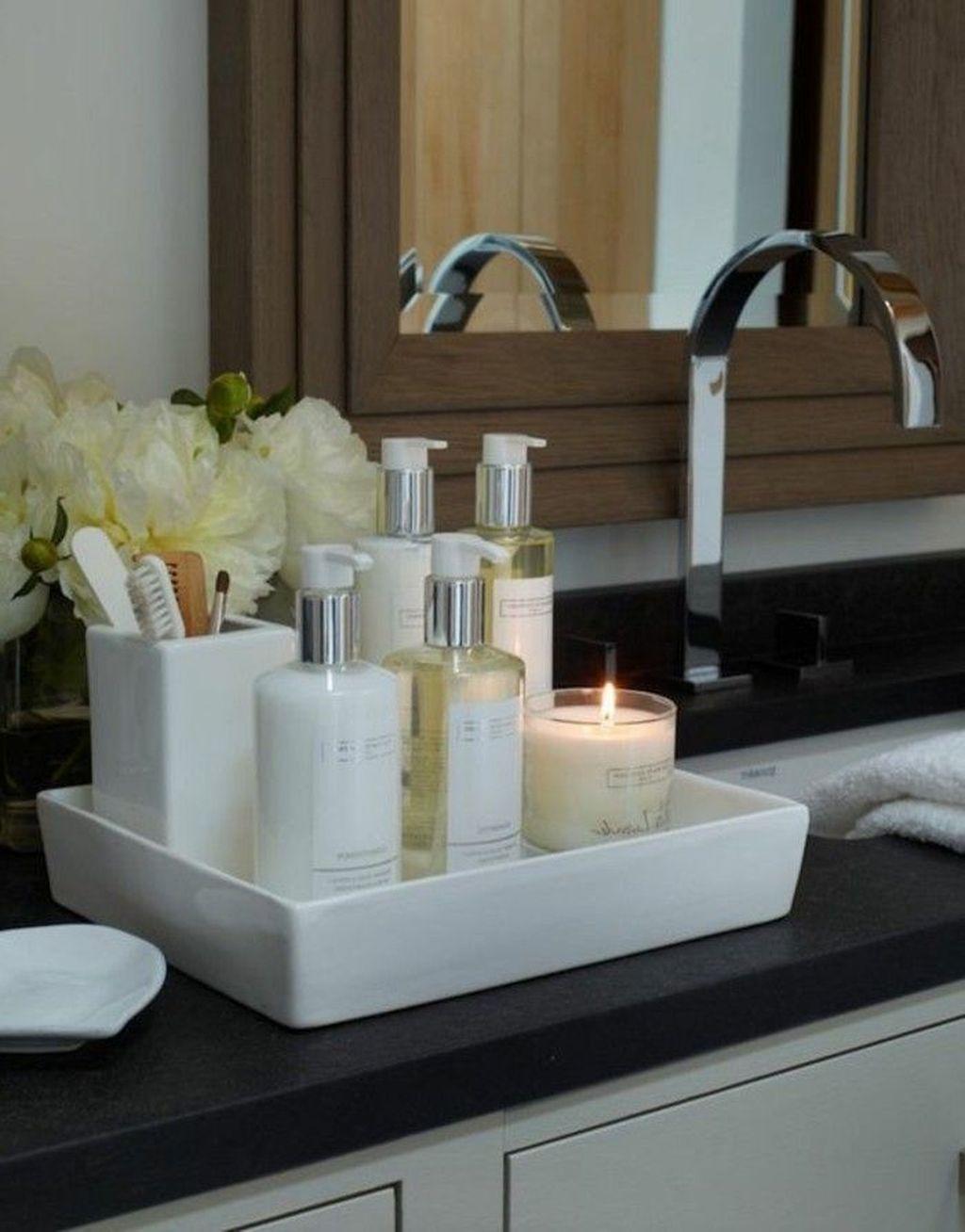Affordable Diy Organization Bathroom Design Ideas For Bottle And Towel Labels31