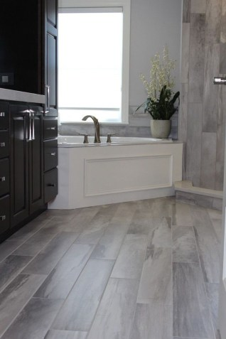 Affordable Marble Tiles Design Ideas In The Wooden Floor38