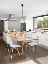 Amazing Scandinavian Kitchen Design Ideas With Island And Cabinets To Try02