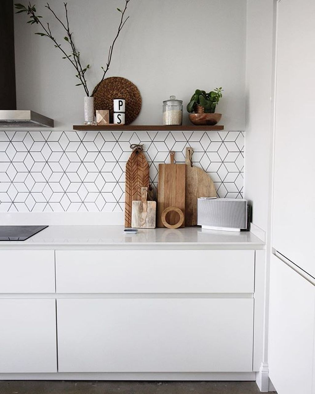 Amazing Scandinavian Kitchen Design Ideas With Island And Cabinets To Try03