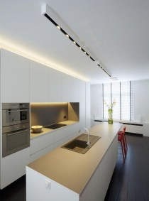 Amazing Scandinavian Kitchen Design Ideas With Island And Cabinets To Try06