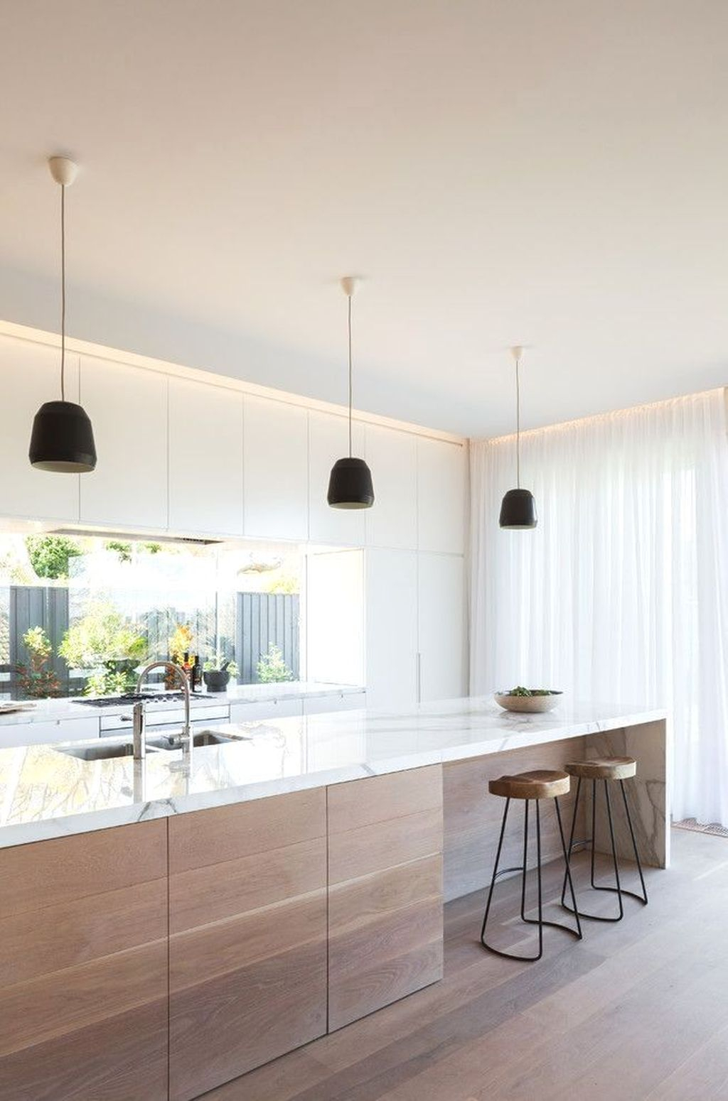 Amazing Scandinavian Kitchen Design Ideas With Island And Cabinets To Try11