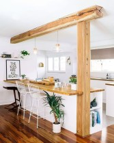 Amazing Scandinavian Kitchen Design Ideas With Island And Cabinets To Try27