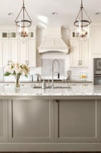 Amazing Scandinavian Kitchen Design Ideas With Island And Cabinets To Try31