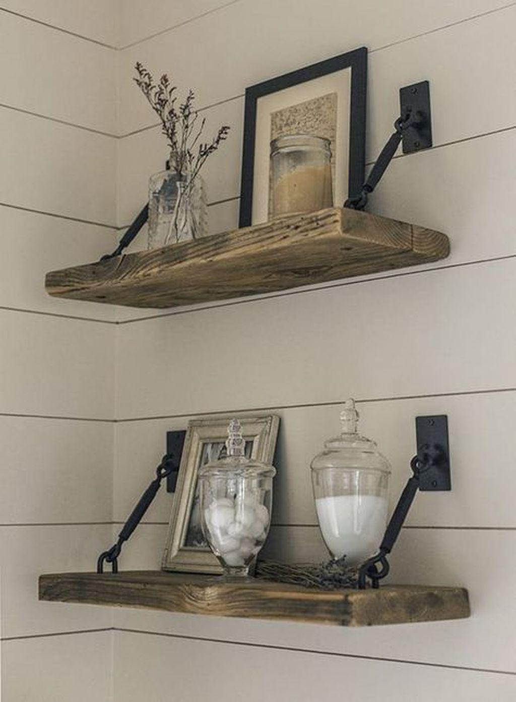 Awesome Diy Turnbuckle Shelf Ideas To Beautify Interior Decor09