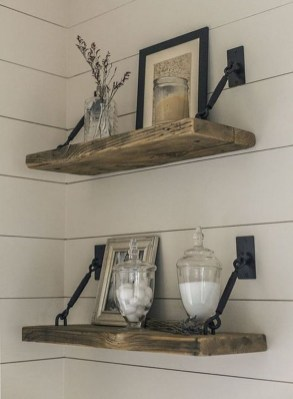 Awesome Diy Turnbuckle Shelf Ideas To Beautify Interior Decor09