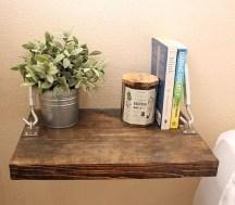 Awesome Diy Turnbuckle Shelf Ideas To Beautify Interior Decor17