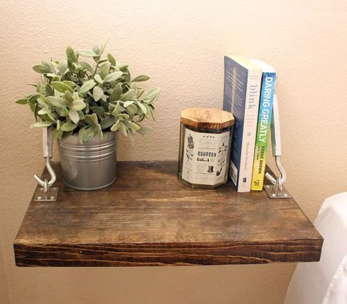 Awesome Diy Turnbuckle Shelf Ideas To Beautify Interior Decor17