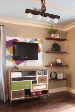 Awesome Diy Turnbuckle Shelf Ideas To Beautify Interior Decor22