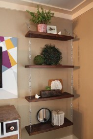 Awesome Diy Turnbuckle Shelf Ideas To Beautify Interior Decor30