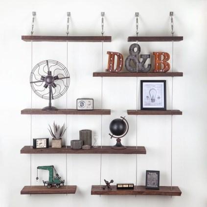 Awesome Diy Turnbuckle Shelf Ideas To Beautify Interior Decor35