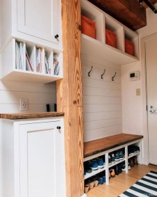 Delightful Mudroom Storage Design Ideas To Have Soon06