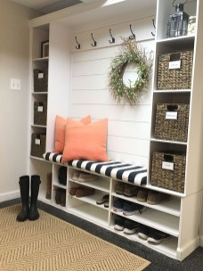 Delightful Mudroom Storage Design Ideas To Have Soon12