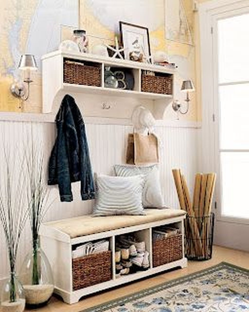 Delightful Mudroom Storage Design Ideas To Have Soon13