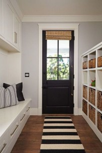 Delightful Mudroom Storage Design Ideas To Have Soon14
