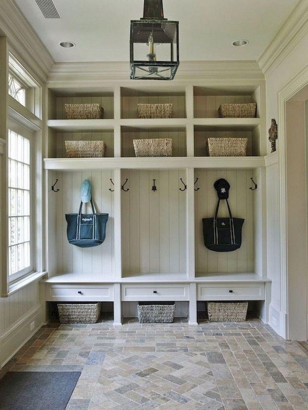 Delightful Mudroom Storage Design Ideas To Have Soon19