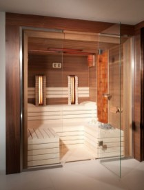 Excellent Palette Sauna Room Design Ideas For Winter Decoration To Try35