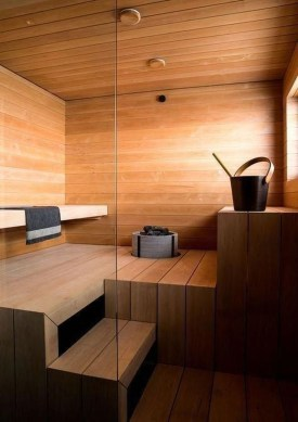 Excellent Palette Sauna Room Design Ideas For Winter Decoration To Try39